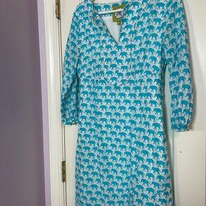 Elizabeth McKay elephant dress